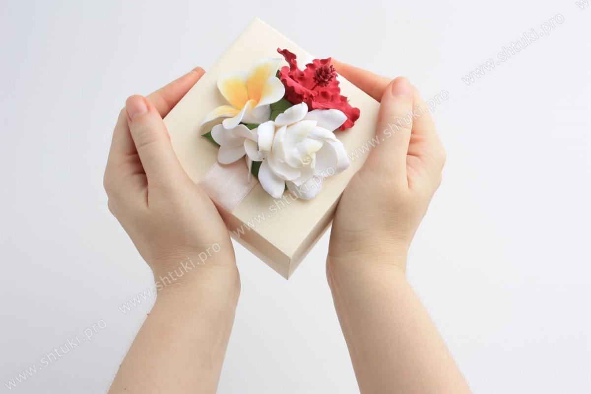 Пробное занятие по лепке «Подарочная коробочка»